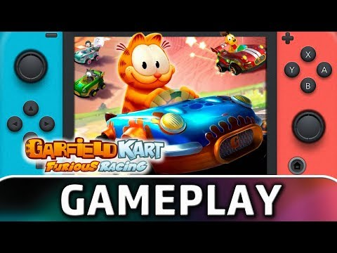 Garfield Kart Furious Racing | First 20 Minutes On Switch