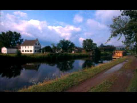 The Erie Canal - The Weavers - (Lyrics)