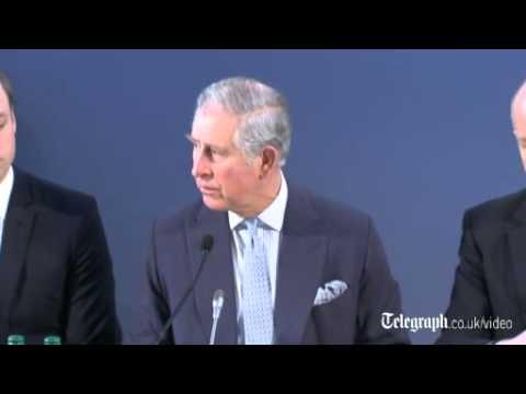 Prince Charles warns of  'dire' poaching crisis
