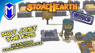Not Just The FPS - Stonehearth - Standard Gameplay - First Impressions And Game Performance Overview