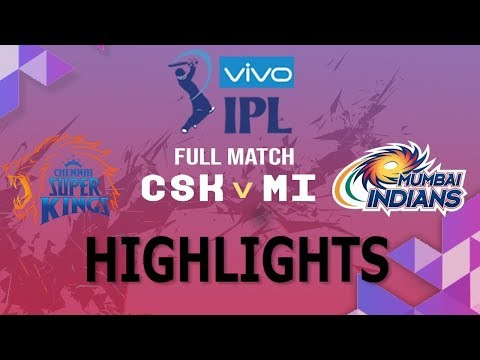Match 44 IPL 2019 Full Highlights • CSK vs MI Full Match Highlights Today