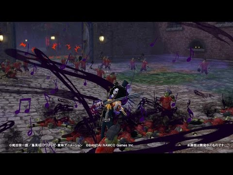 PS4・PS3・PS Vita「ワンピース 海賊無双3」 プレイ動画【ブルック】篇