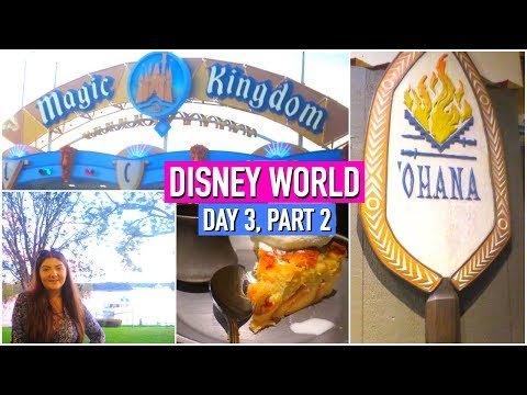 Download Youtube: DISNEY WORLD VLOGS 2017 | DAY 3, PART 2 | OHANA DINNER & HAPPILY EVER AFTER!