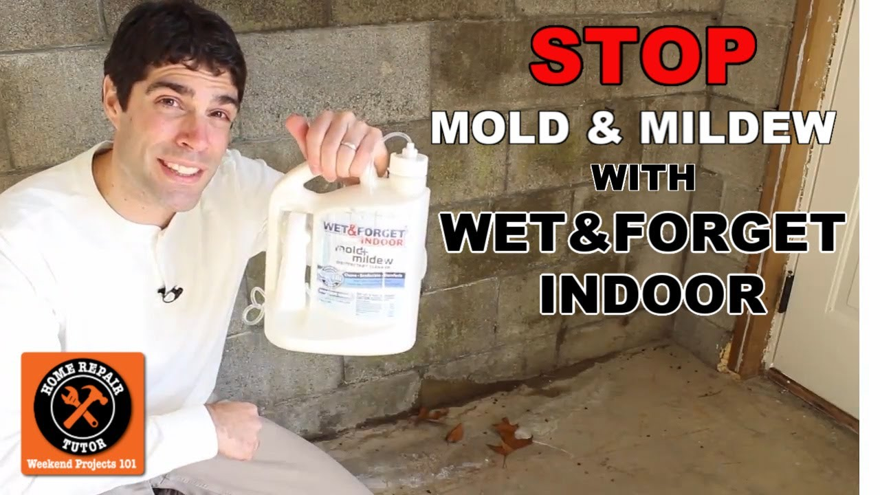 wet u0026 forget indoor discover a new way to stop mold u0026 mildew by home repair tutor