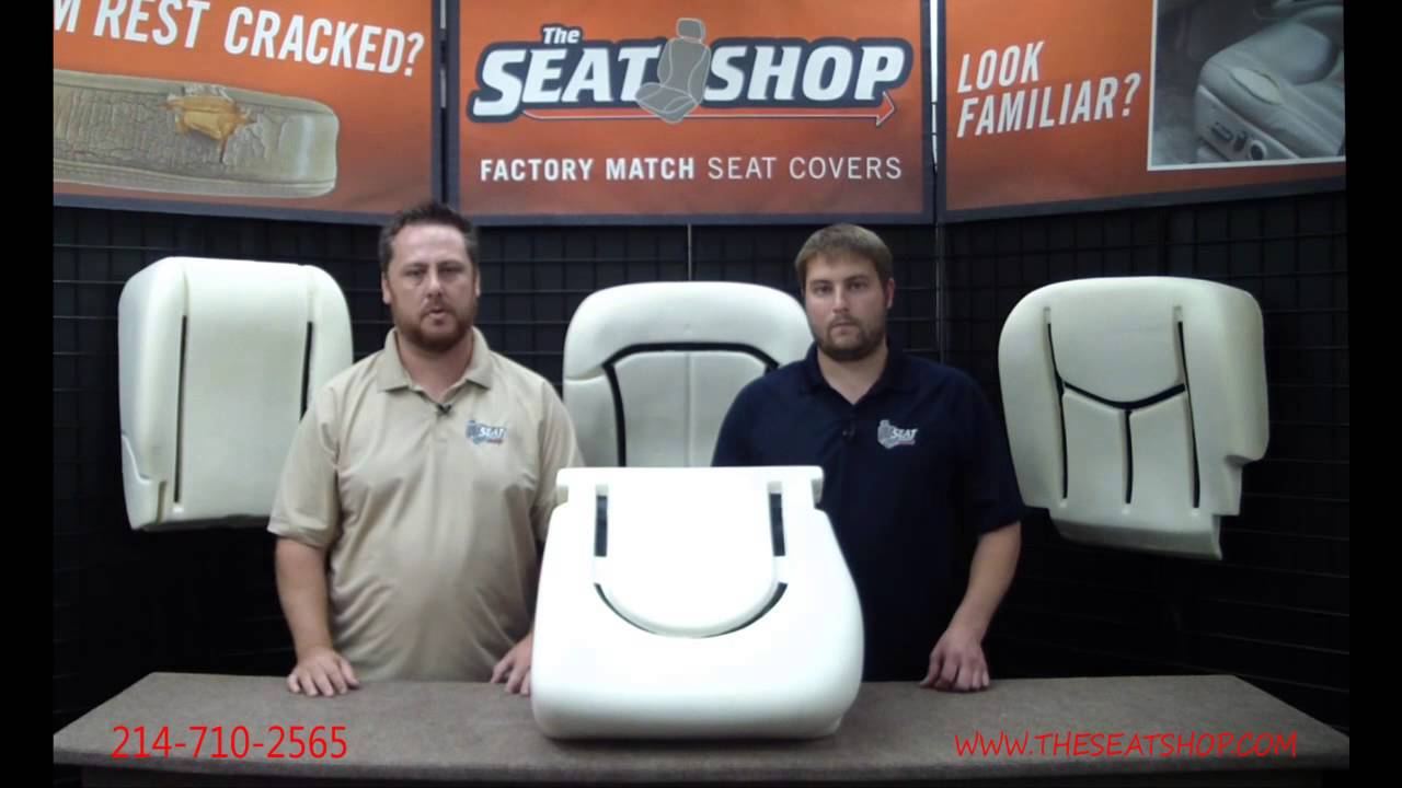1998 2000 Ford F250 F350 Driver Bottom Durofoam Cushion Youtube