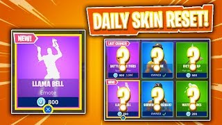 BRAND NEW EMOTE! Daily Item Shop In Fortnite: Battle Royale! (Skin Reset #193)