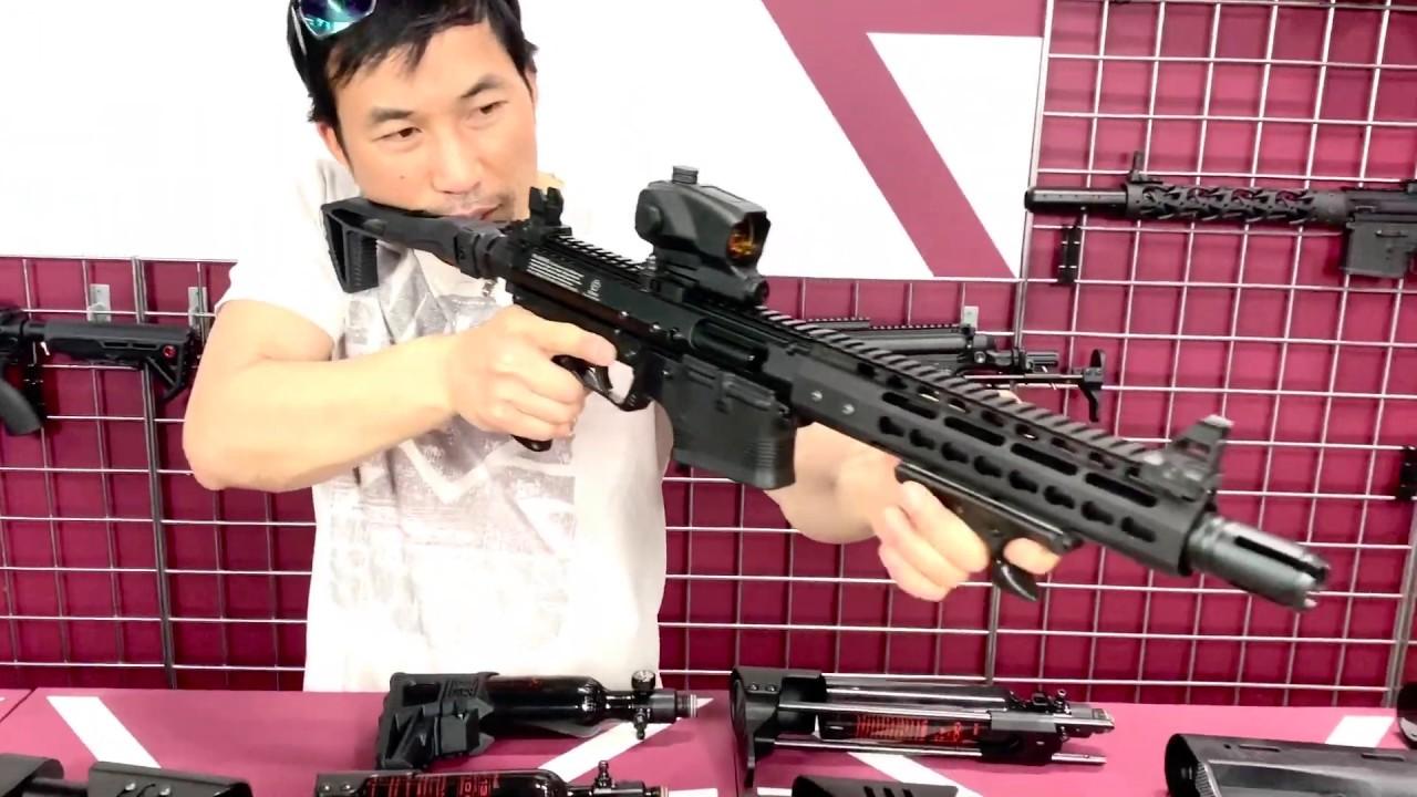 Tacamo Bolt Paintball Gun Buttstock Options