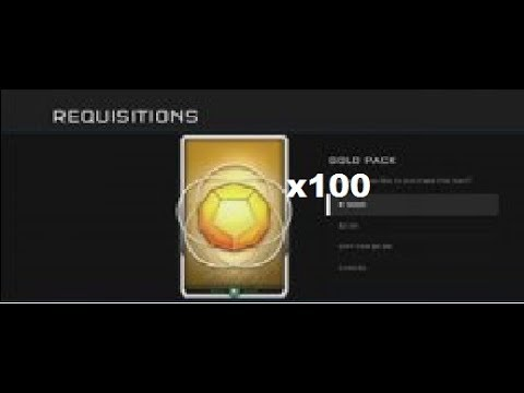 100 Gold Pack Opening!