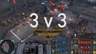 Dawn of War 2 - 3v3 | Noisy + Aguxyz + HansMoleman [vs] zeetorq + yaya + Viking