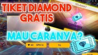 Cara mendapatkan tiket diamond royal secara gratis | FREE FIRE INDONESIA