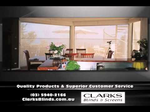 Window Furnishings Pakenham VIC  Clarks Blinds & Screens