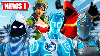 THE 50 PROCHAINS SKINS ON FORTNITE ... (TENUES, DANSES, PIOCHES, PACKS ...)