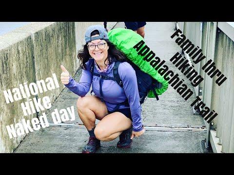 National HIKE NAKED DAY / AT THRU hike / EP 14