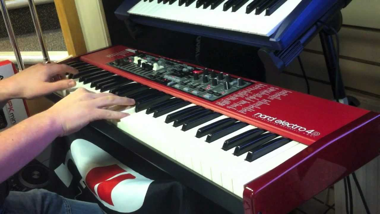 Nord Electro 4d : nord electro 4d sw61 demonstration no talking just playing youtube ~ Hamham.info Haus und Dekorationen