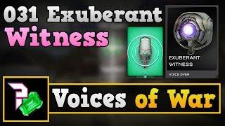 Halo 5 Voices of War - 031 Exuberant Witness