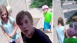 Man Checks Door Camera And Finds 3 Kids Standing On His Doorstep With $700 Cash