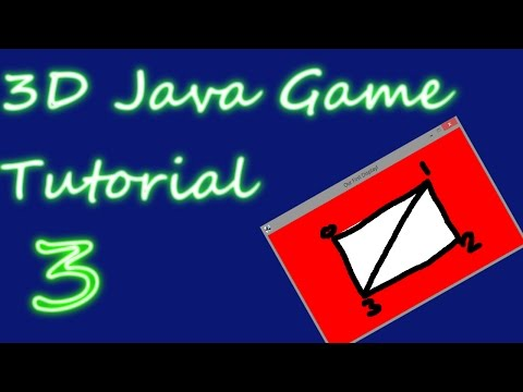 OpenGL 3D Game Tutorial 3: Rendering with Index Buffers