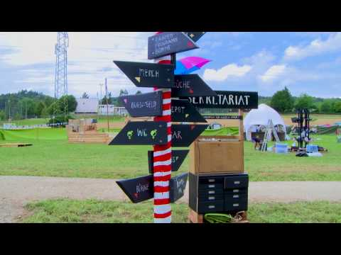 Kanal K am kleinLaut Festival 2017 - die Ankunft