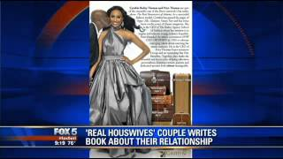 Peter Thomas and Cynthia Bailey Talk 'Carry On Baggage' on WAGA-TV Atlanta (Interview)