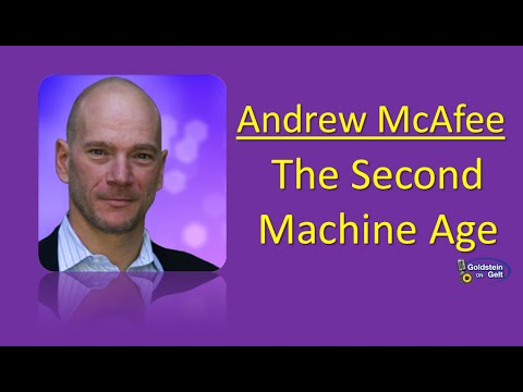 Andrew McAfee - The Second Machine Age - interview - Goldstein on Gelt - Sept. 2014