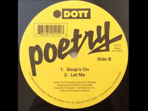 Poetry ~ Soup's On ~ Dott Records 1994 NYC