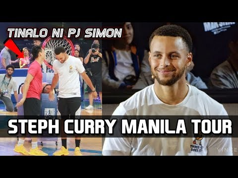 PJ Simon beats Steph Curry in Skills Challenge (VIDEO)