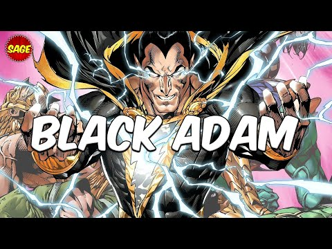 Who is DC Comics' Black Adam? Most Powerful Villain from Earth.