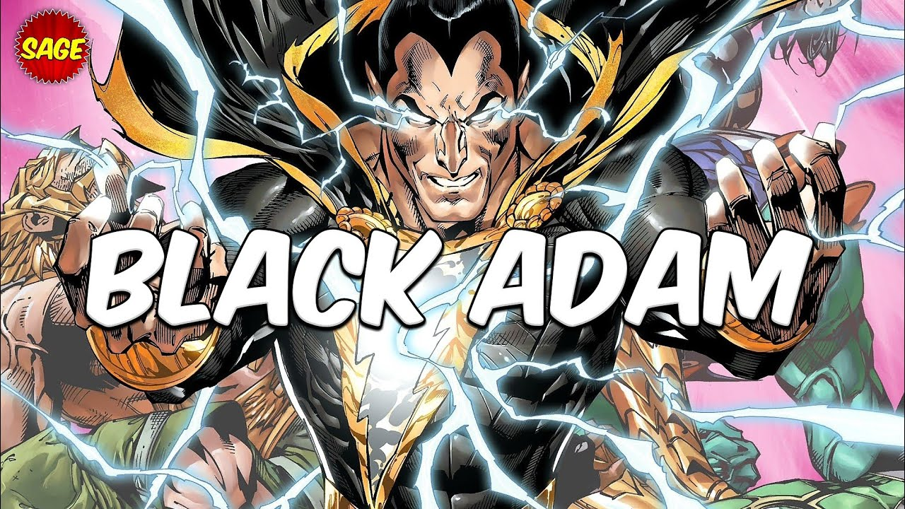 Download Who is DC Comics' Black Adam? Most Powerful Villain from Earth.