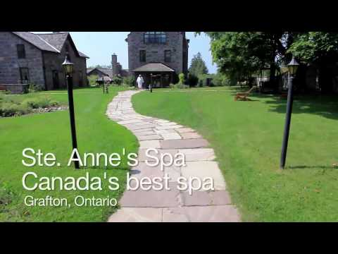 Ste. Anne's Spa: Canada's Best Spa in Grafton - Ontario, Canada