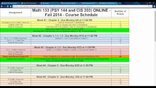 discussion board overview math 133 online