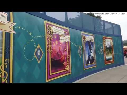 180317 Castle Transformation Construction Update at Hong Kong Disneyland丨香港迪士尼樂園城堡擴建工程狀況更新
