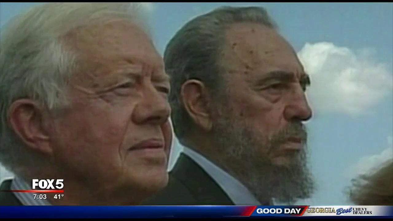 Fidel Castro dies - YouTube