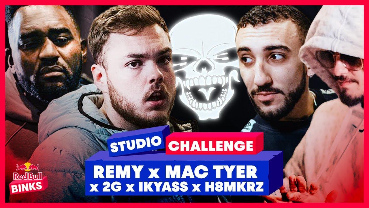 UNTOUCHABLE sur la TRAP bien SOMBRE de H8MKRZ - Red Bull Studio Challenge #23