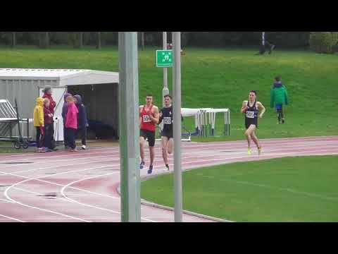 1500 metres male race 5 Tonbridge AC Easter Open Meeting 02042018
