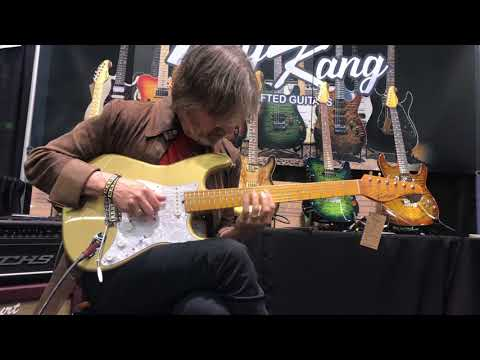 NAMM 2018 Taey Kang Guitars (Dean Brown)