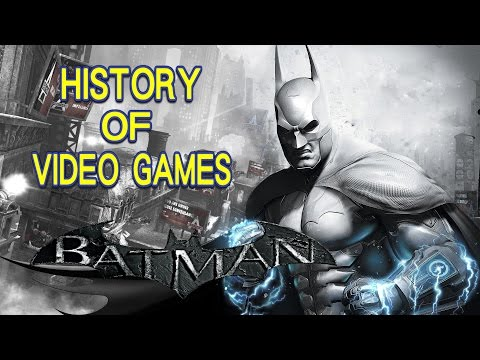 History of Batman (1986-2016) - Video Game History