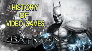 History of Batman (1986-2016) - Video Game History