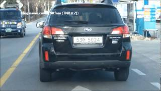 2012 Subaru Outback test drive