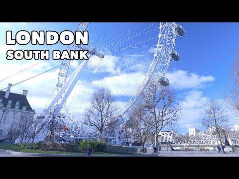 London's South Bank - Virtual Tour! 🇬🇧