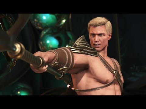 Injustice 2 : Aquaman All Intro Dialogues