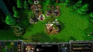 Warcraft 3 - Tower Rush in 60 Seconds