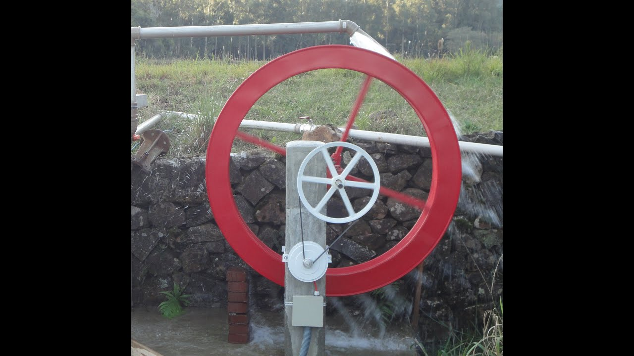 5c2b2b65608 Sistema de Geração de Energia em Roda d Água - Canela RS - YouTube