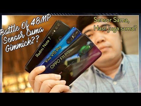 Adu Kamera 48MP: OPPO F11 Pro vs Vivo V15 pro vs Redmi Note 7