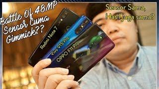 Adu Kamera 48MP OPPO F11 Pro Vs Vivo V15 Pro Vs Redmi Note 7