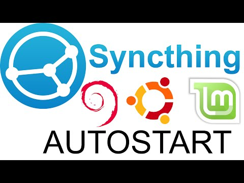 Starting Syncthing with Ubuntu (autostart)