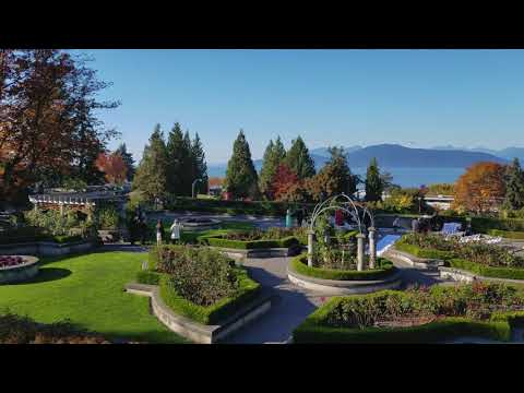 Vancouver PARKS & GARDENS: UBC ROSE GARDEN - A Meditation Video, Just Taking in the View