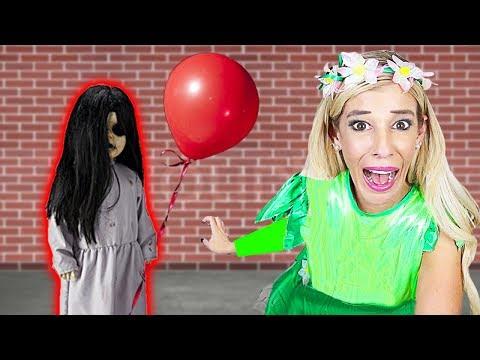 CREEPY DOLL Surprises Me During 24 HOUR Halloween Costume Challenge!  | Rebecca Zamolo