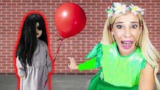 CREEPY DOLL Surprises Me During 24 HOUR Halloween Costume Challenge!  | Rebecca Zamolo Video