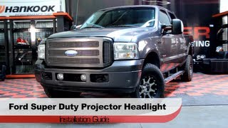 Spyder Auto Installation: 2005-07 Ford Super Duty [F-250,350,450,550] Projector Headlights