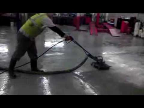 Automotive Shop Floor Cleaning Youtube